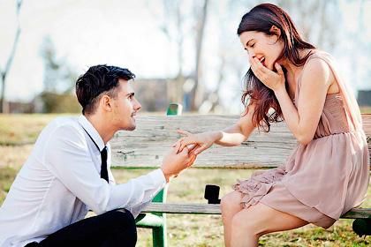 Парень предложил выйти замуж