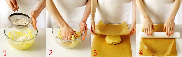 Как приготовить и раскатать тесто для печенья? - Печенье «Любящие сердечки»