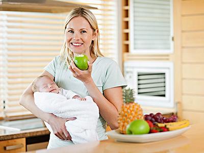 Рацион кормящих мам в разных странах мира