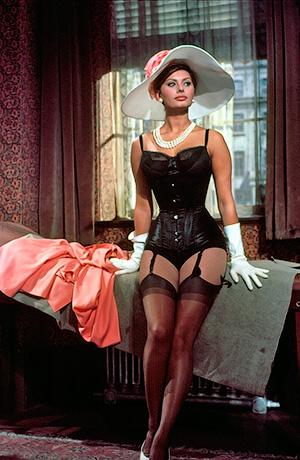 Софи Лорен - Его величество Корсет - зачем он нужен и как его носить? - Форум Сириус - Торез