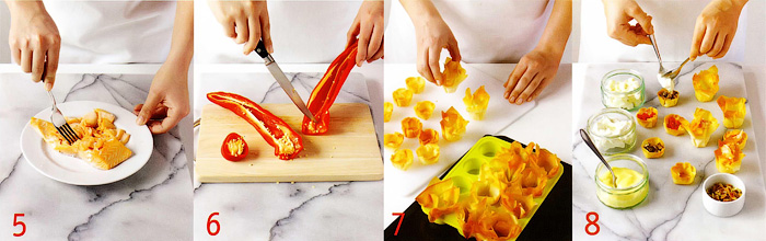 Приготовление начинок и выпекание - Корзиночки из фило