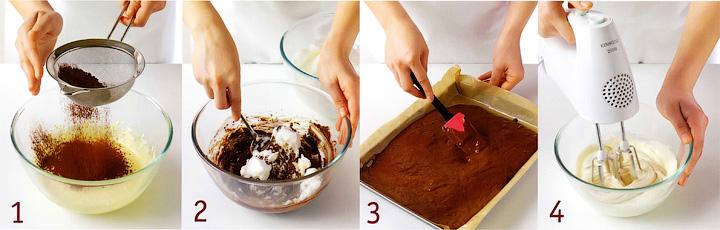 Как подготовить и испечь рулет, а также сделать крем - Шоколадно каштановый рулет