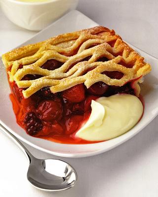 «Корзинка с ягодами» - классический пирог