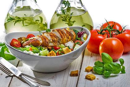Настоящий салат «Цезарь»