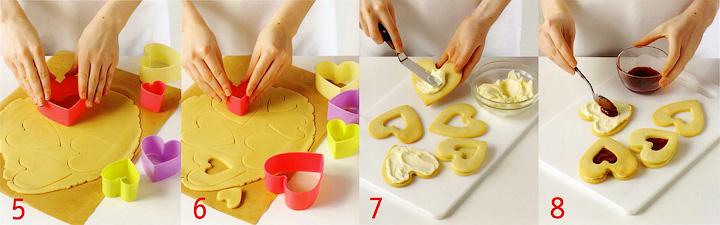 Как вырезать, выпечь и собрать печенье? - Печенье «Любящие сердечки»