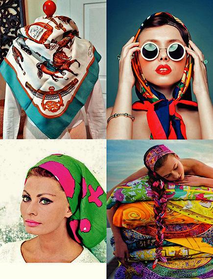 Платки, косынки и банданы. Как носить и повязять - Форум Сириус - Торез
