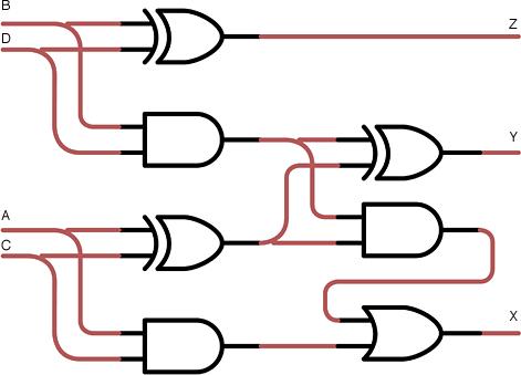 Схема устройства, которое складывает два двузначных числа - Форум Сириус - Торез