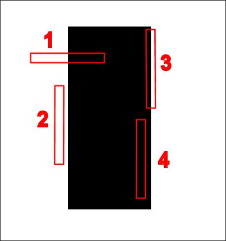 Область контраста должна пересекать длину сенсора - Как тестировать автофокус?