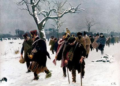 Что погубило армию Наполеона?