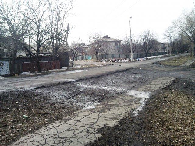 Улицы поселка- Посёлок шахты 3-БИС. Город Торез