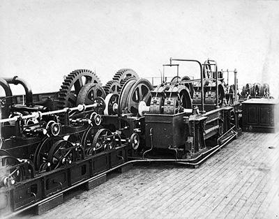 Машина для укладки кабеля на «Грейт Истерн» - Связавший континенты. Телеграф на дне океана - Форум Сириус - Торез