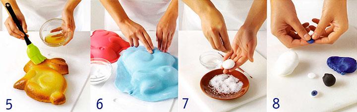 Украшение торта - Торт «Кролик»