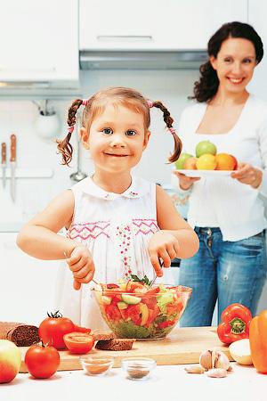 Питание ребенка 3-х лет