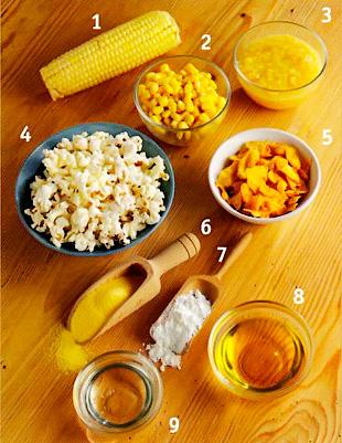 Продукты из кукурузы - Кукуруза - использование в выпечке