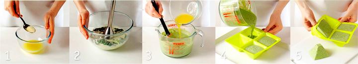 Как приготовить мусс из спаржи и шпината