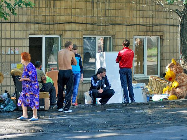 Жильцы сгоревшего дома - Пожар на улице Ленина 6 сентября 2012 года - Форум Сириус - Торез