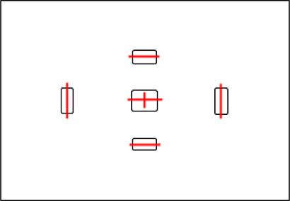 Контуры выглядят как черные контуры - Как тестировать автофокус?