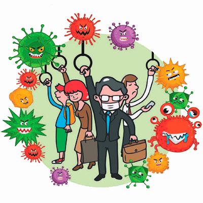 Бактерии в метро - микробы с пересадкой