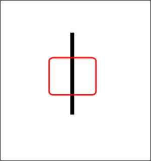Область фокусировки на черной линии - Как тестировать автофокус?