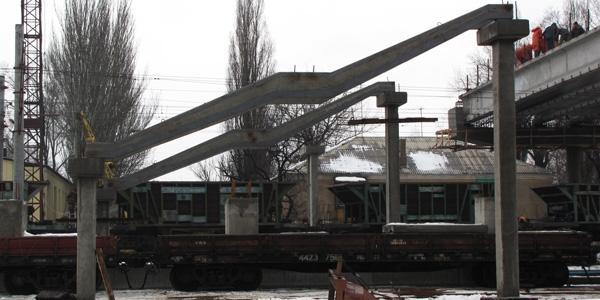 Спуск на перрон - В Донецке идет реконструкция ЖД вокзала - Форум Сириус - Торез