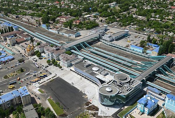 В Донецке идет реконструкция ЖД вокзала - Форум Сириус - Торез