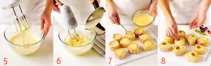 Делаем крем и украшаем выпечку - Кекс - Тюльпан