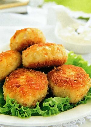 Картофельные пирожки с луком - Правильное летнее меню