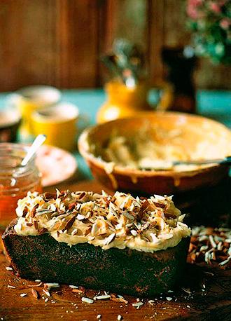 Яблочный пирог с медом и насыщенным ароматом