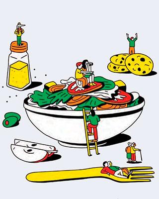 Как правильно питаться в 20, 30, 40, 50 и 60 лет?