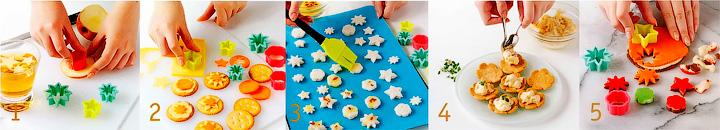 Как готовить выемки в виде цветочков