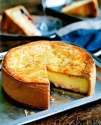 Баскский кремовый пирог