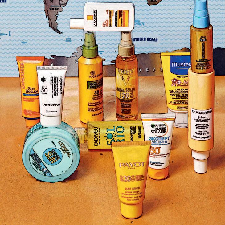 Cолнцезащитные крема - Какой SPF взять на отдых? Солнце ещё высоко