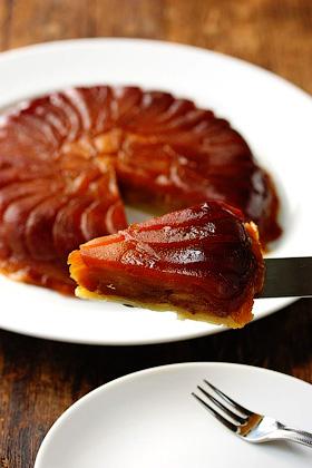 Тарт татен - пирог перевертыш