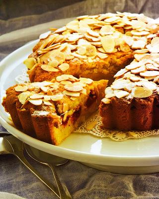 Вишневый пирог «Бейквелл»