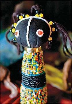 Африканская кукла зулу - Добрая магия вуду В ней есть идеи для тебя - Форум Сириус - Торез
