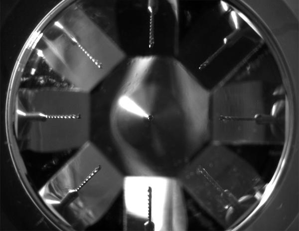 Сверло, рассматриваемое под девятью углами - Оригинальная линза для трёхмерной микроскопии - Форум Сириус - Торез