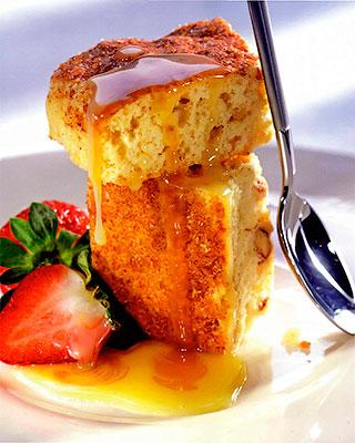 Кекс с фундуком и медом
