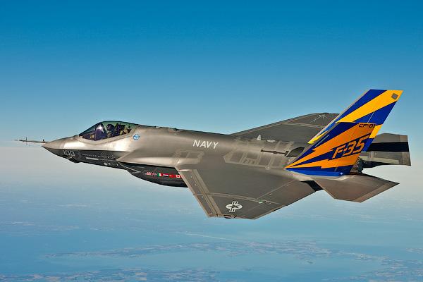 F-35 Lightning II - Невидимые самолеты истребители