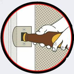 Можно использовать ватерпас - 20 способов открыть бутылку - Форум Сириус - Торез