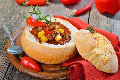 Суп в хлебе