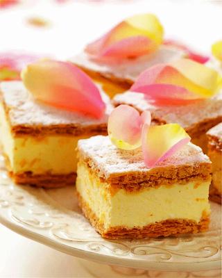 Польское слоеное пирожное