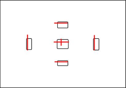 Положение сенсоров не в центре контура в видоискателя - Как тестировать автофокус?