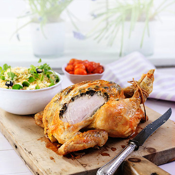 Запеченная курица - Куриные блюда