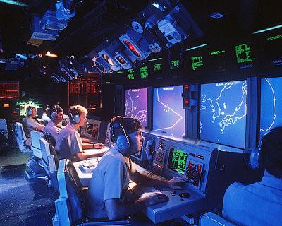 Боевой информационный пост крейсера «Винсеннес» - Ошибка капитана Роджерса