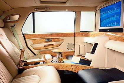 Лимузин от компании Bentley - Модели авто для первых персон - шишковозы