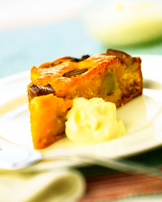 Английский ревеневый пирог «Бейквелл»