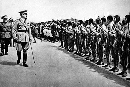 Первые парашютисты Италии. Небесные «Аскари»