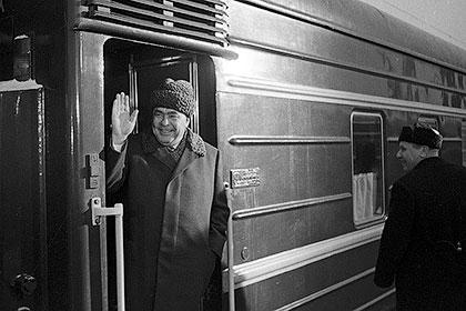 Литерные поезда вождей