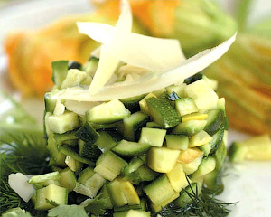 Тартар из сырых кабачков - Кабачок - универсальный продукт