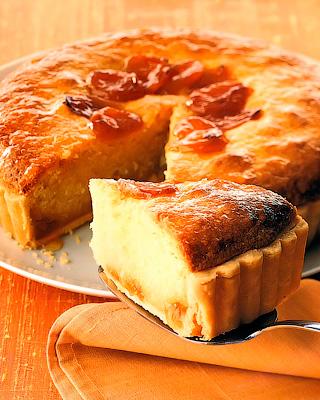 Абрикосовый пирог «Бейквелл»